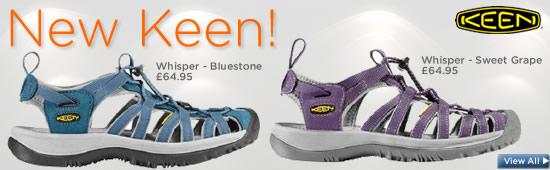Women's Keen sandals 2012
