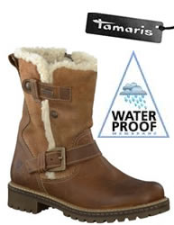 new waterproof boots from tamaris blog. Black Bedroom Furniture Sets. Home Design Ideas