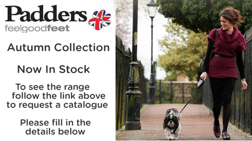 Padders shoes and boots catalogue