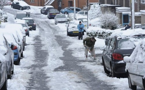 uk weather snow