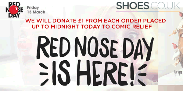 Shoes.co.uk comic relief