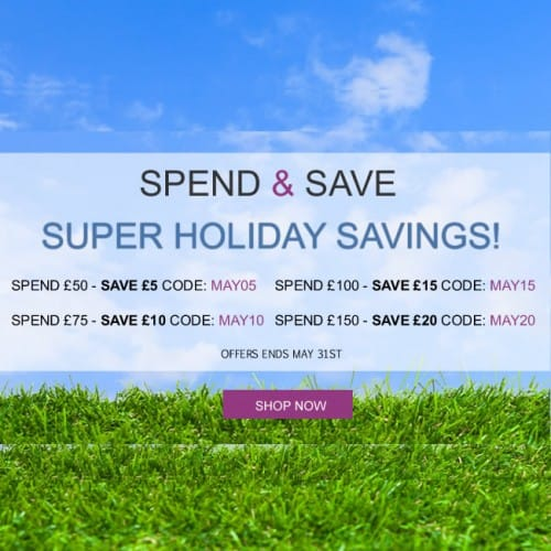 spend and save promotion at Shoes.co.uk