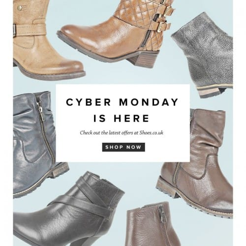 Cyber Monday at Shoes.co.uk