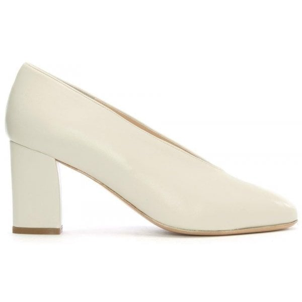 Daniel Aneso White Leather V Front Court Shoes Daniel from