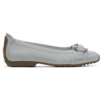 Kennel & Schmenger Huxley Taupe Suede Buckle Front Pump