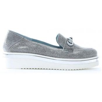 Daniel Impalo Speckled Leather Embellished Loafers