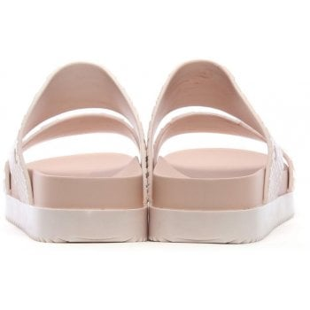 Melissa x Baja East Cosmic Python Blush Marble Two Bar Sliders