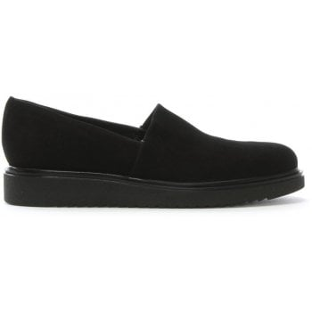 Daniel Zaga Black Suede Loafers