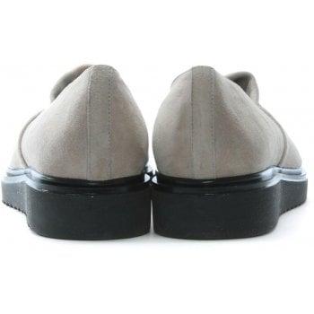 Daniel Zaga Taupe Suede Loafers