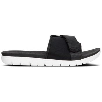 Fitflop Neoflex Black Sporty Sliders