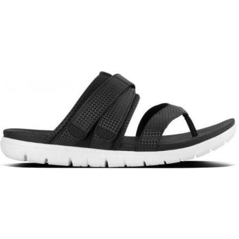 Fitflop Neoflex Black Sporty Thong Sandals