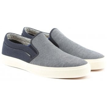 Jack & Jones Rush Navy Canvas Pump