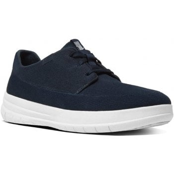 Fitflop Sporty Pop Navy Canvas Trainers