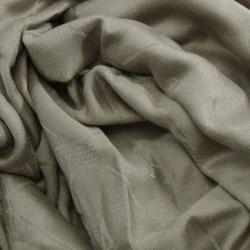 Armani Jeans Super Soft Grey Logo Scarf