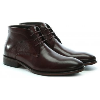 Daniel Yarcombe Brown Leather Ankle Boots