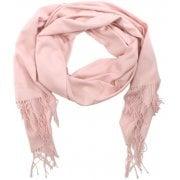 Daniel Plain Pink Cashmere Scarf