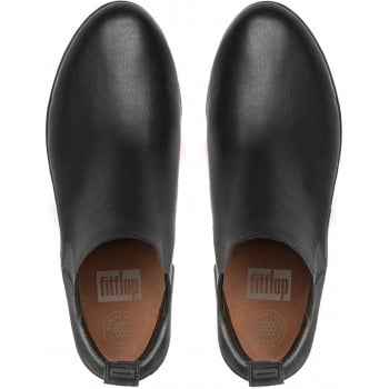 Fitflop Superchelsea Black Leather Boots