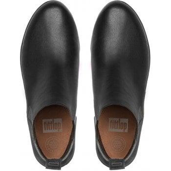Fitflop Superchelsea Black Leather Boots