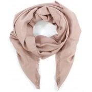 Daniel Luxe Silk Mix Pink Scarf