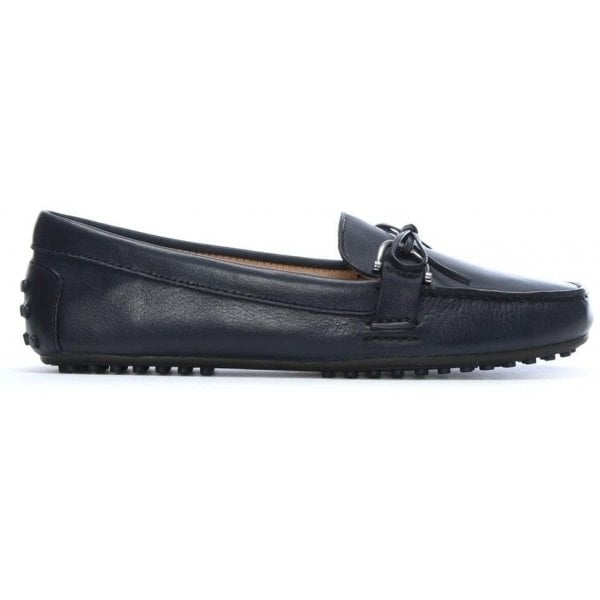 ee1d1087f74 Lauren by Ralph Lauren Briley Navy Leather Driving Loafers - Lauren By Ralph  Lauren from Shoes.co.uk UK
