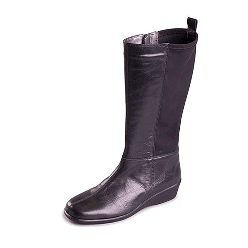 c23d64c3fe40 Aerosoles Four Seater 1035 Women s Black Boots - Free Delivery at Shoes .co.uk