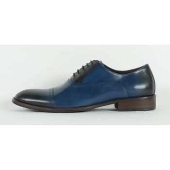 Azor Corsica Lace Up Shoe -Blue