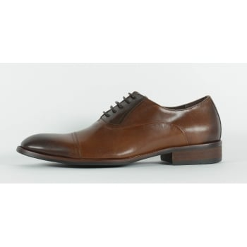 Azor Corsica Lace Up Shoe - Tan/Brown