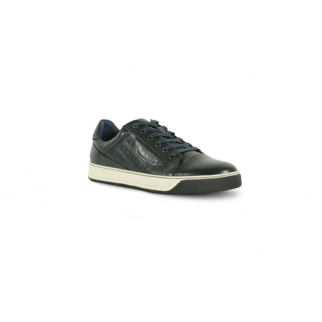 Azor Lazio Casual Lace Shoe - Blue