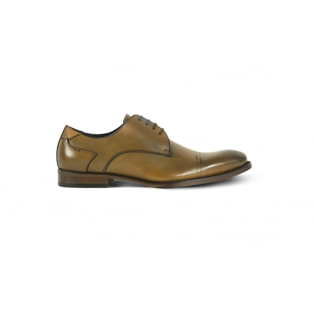 Azor Salermo Formal Lace Up Shoe - Brown