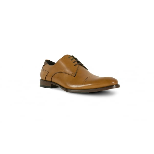 Azor Salermo Lace Up Shoe - Tan