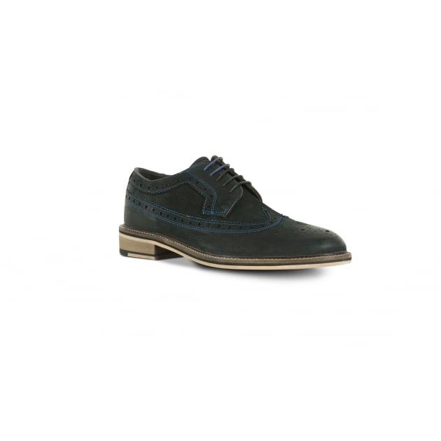 Azor Wendell Brogue Shoe - Black