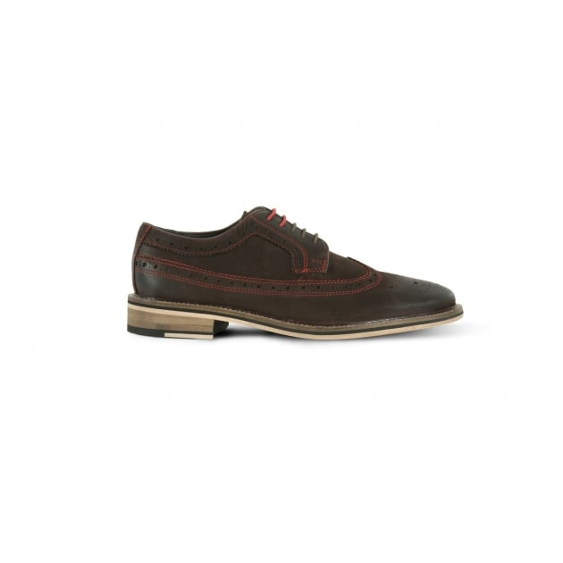 Azor Wendell Brogue Shoe - Brown