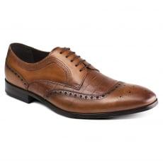 Azor Shoes Bianco (Zm3778) Tan Shoes