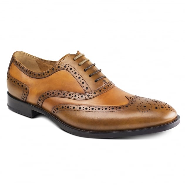 Azor Shoes Cresto (Zm3776) Tan/Brown Shoes