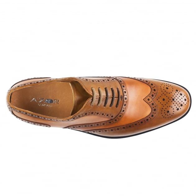 Cresto (Zm3776) Tan/Brown Shoes