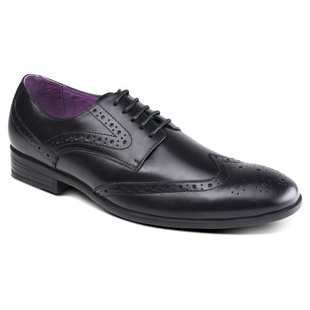Azor Shoes Lancetti (Zm3774) Black Shoes