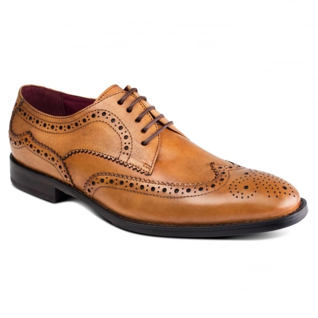 Lugano Zm3771 Tan Shoes