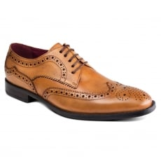 Azor Shoes Lugano Zm3771 Tan Shoes