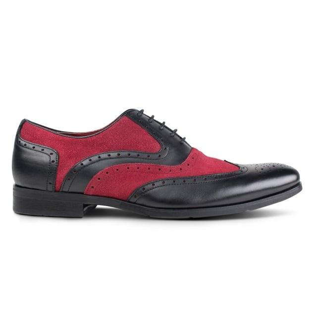 Miller Zm3748  Black/Burgundy Shoes