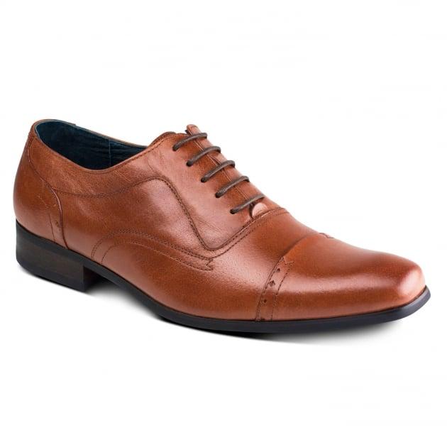 Azor Shoes Padova Zm3766 Tan Shoes