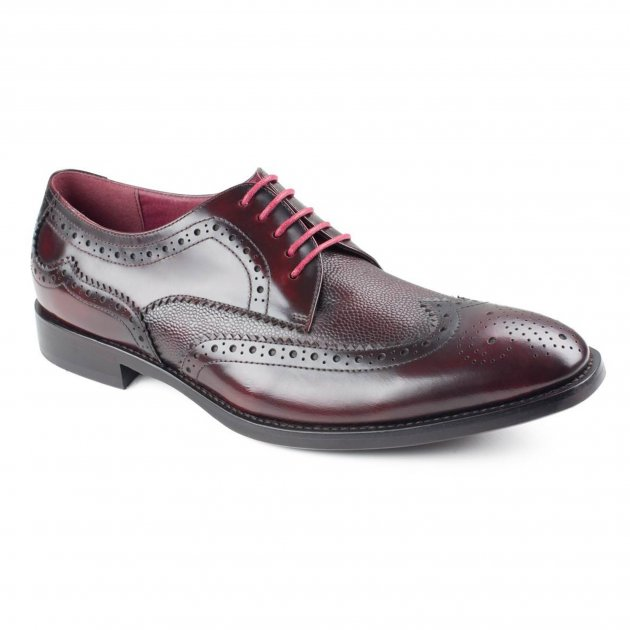 Azor Shoes Paletta Zm3773 Burgundy Shoes