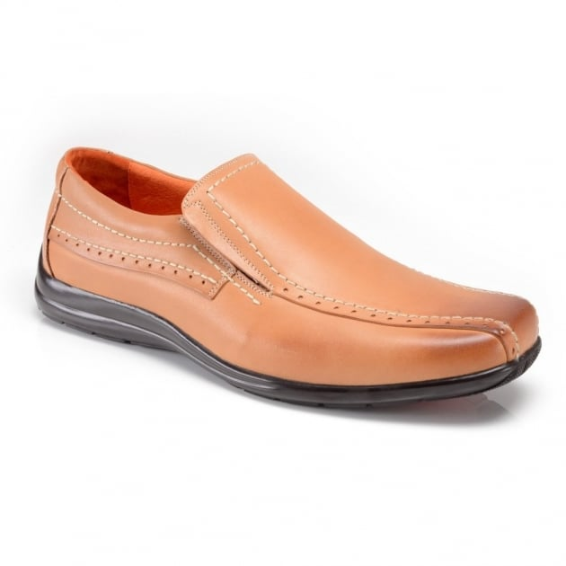Azor Shoes Pebble Zm371 Light Brown Shoes