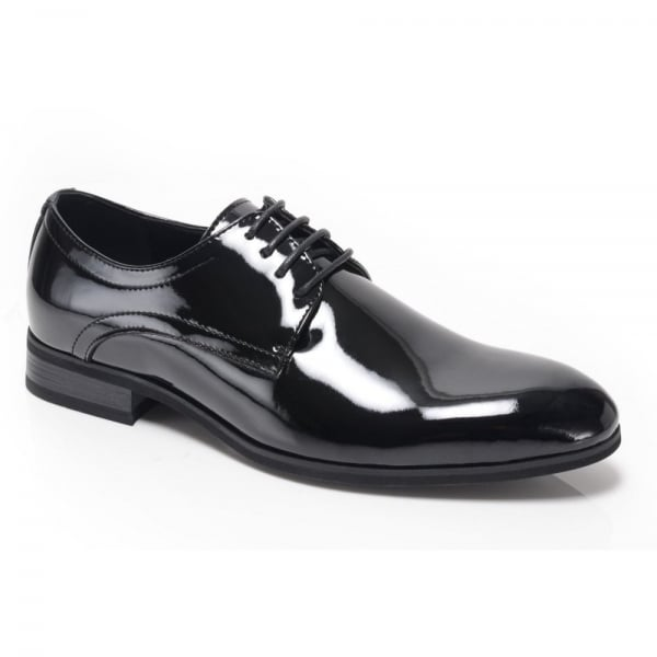 Trevor RG6755 Black Patent Shoes