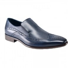 Azor Shoes Vicenza ZM3764 Blue Shoes