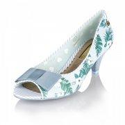 Babycham Uma Hawaiian Blue Shoes