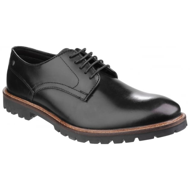 Base London Barrage Lace Up Derby Shoe Black Shoes