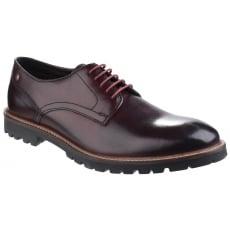 Base London Barrage Lace Up Derby Shoe Bordo Shoes