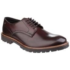 Base London Barrage Lace Up Derby Shoe Brown Shoes