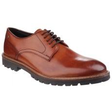 Base London Barrage Lace Up Derby Shoe Tan Shoes
