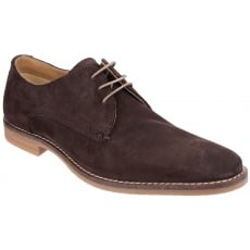 Base London Bayham Suede Brown Shoes